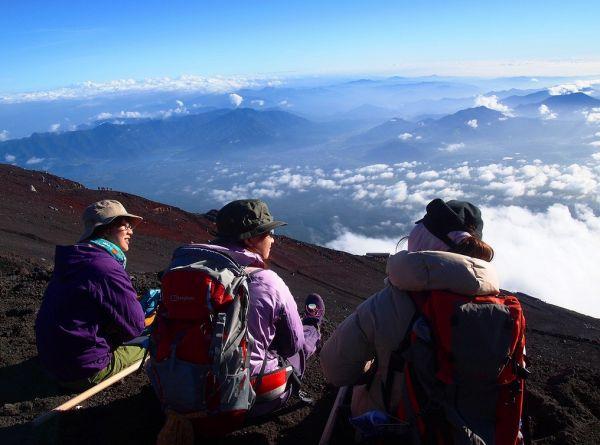 Leo núi Phú Sĩ - Nhật Bản