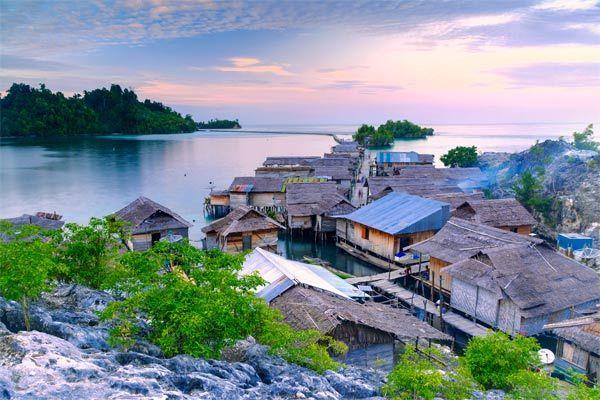 Ngôi làng nhỏ Kabalutan