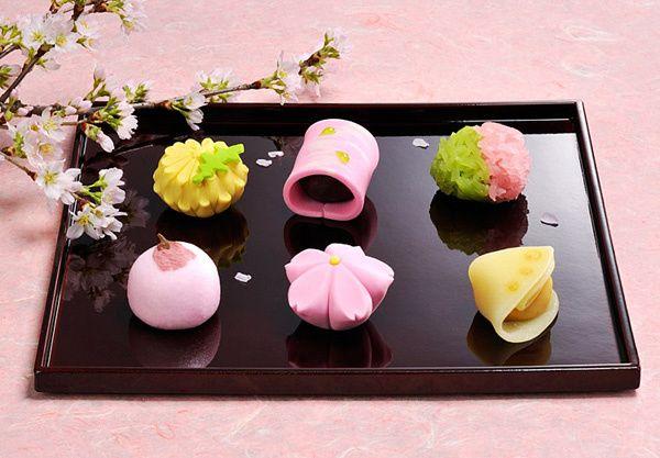 Bánh Wagashi Nhật Bản